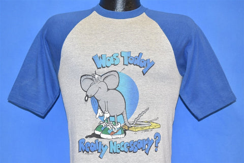 80s Was Today Really Necessary Cartoon Mouse t-shirt Small