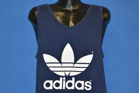 80s Adidas Trefoil Tank Top t-shirt Large
