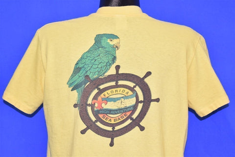 80s Florida Sea Base High Adventure Pocket t-shirt Large