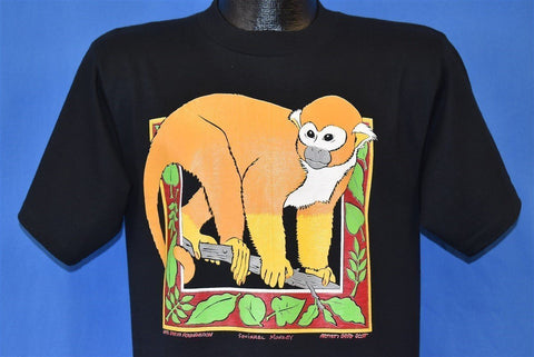 90s Monkey Rainforest Rescue Campaign t-shirt Medium