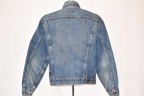 70s Levis Trucker Type 3 70505 Denim Jacket Small
