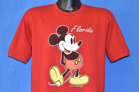 80s Mickey Mouse Florida Disney t-shirt Large