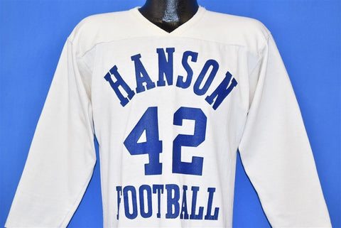 70s Hanson Beavers #42 High School Jersey t-shirt Medium