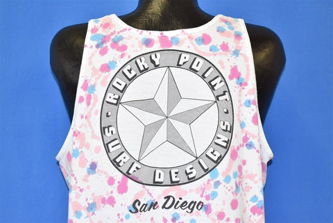 80s Rocky Point Surf San Diego Tank t-shirt Extra Large