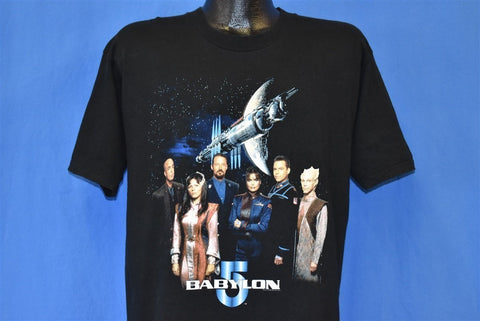 90s Babylon 5 Space Station Sci Fi TV Show t-shirt Large