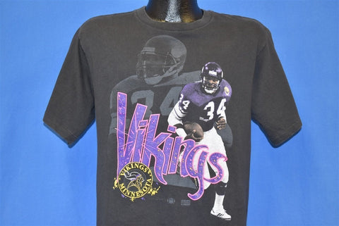 90s Minnesota Vikings Herschel Walker NFL t-shirt Medium