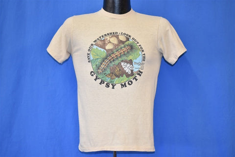 80s Save Our Watershed Gypsy Moth t-shirt Extra Small