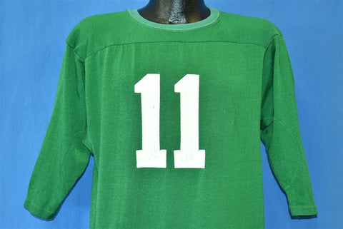 70s Green #11 Distressed Jersey t-shirt Large