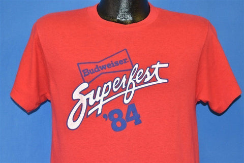 80s Budweiser Superfest '84 Beer Maze t-shirt Medium