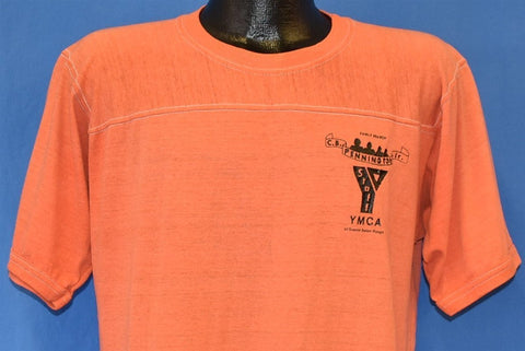 70s YMCA Staff Camp Baton Rouge Jersey t-shirt Large