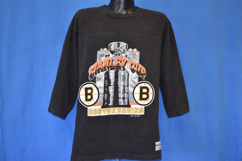 90s Boston Bruins 1990 Stanley Cup t-shirt Large