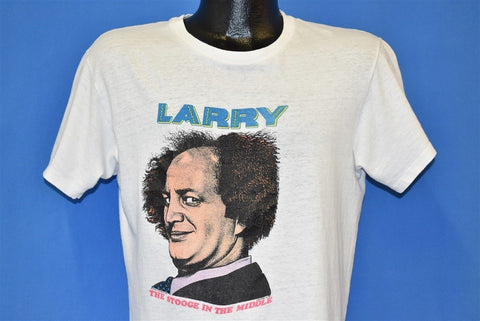 80s Larry Stooge In the Middle t-shirt Medium