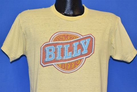 70s Billy Beer Logo Jimmy Carter Yellow t-shirt Medium