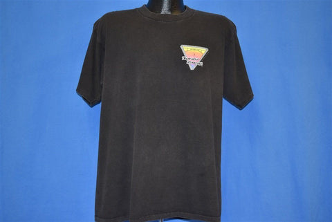90s Bungy Zone Approved Jumper Neon Sunset t-shirt Extra Large