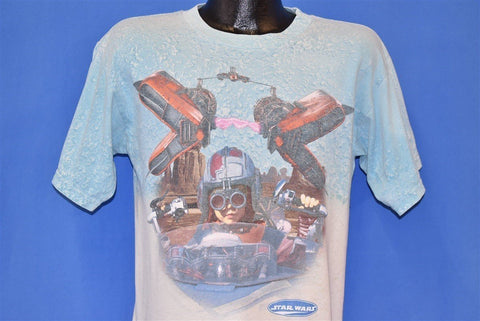 90s Star Wars Episode I Pod Race t-shirt Youth Large