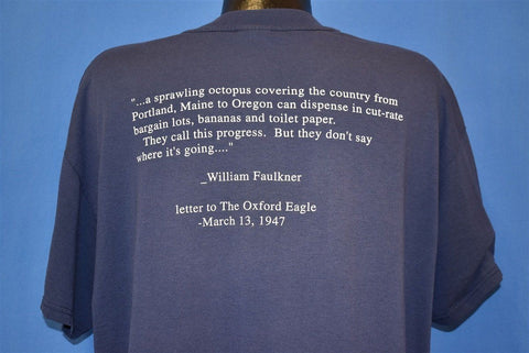 90s Barnes & Noble Spoof Snopes Faulkner t-shirt Extra Large