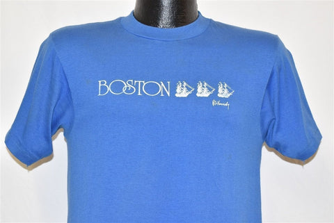 80s Boston Massachusetts Sailboat Kennedy t-shirt Small