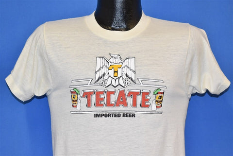 80s Tecate Imported Beer Logo t-shirt Small