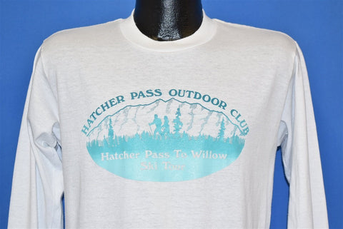 90s Hatcher Pass Outdoor Club Alaska t-shirt Medium