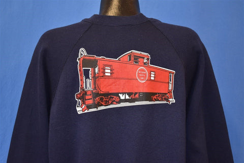 80s Missouri Pacific Railroads Caboose Sweatshirt Extra Large