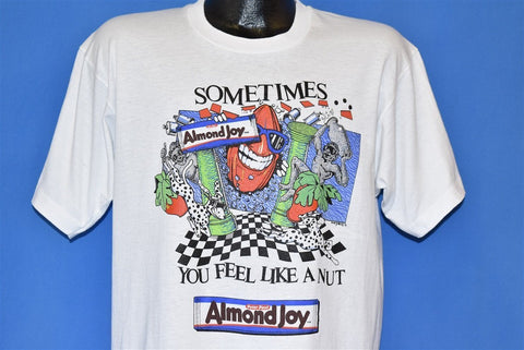90s Almond Joy Sometimes You Feel Like a Nut t-shirt Large