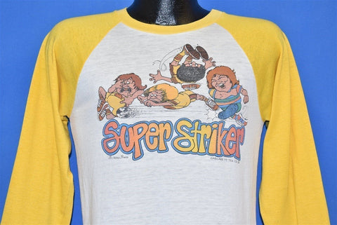 80s Super Striker Soccer Raglan t-shirt Youth Extra Large