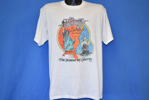 80s HMS Bounty Salutes The Statue of Liberty t-shirt Large