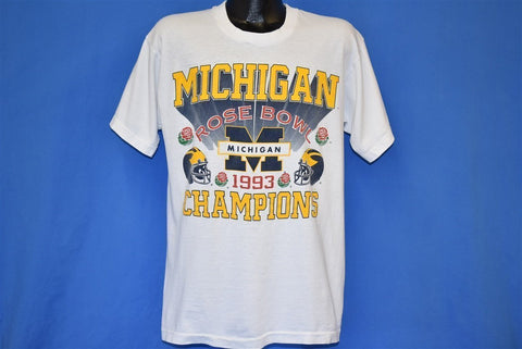 90s Michigan Wolverines Rose Bowl Champions t-shirt Large