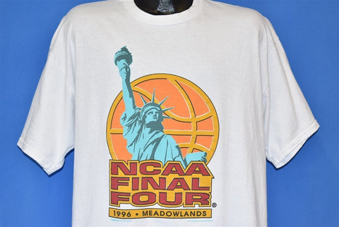 90s NCAA Final Four 1996 Meadowlands t-shirt Extra Large