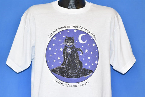 Salem Witch Trials Innocent Not Be Forgotten t-shirt Extra Large