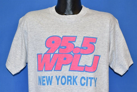 90s WPLJ 95.5 Radio Station New York City t-shirt Large
