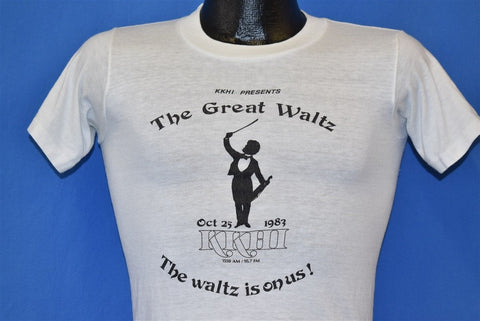 80s KKHI The Great Waltz October '83 t-shirt Extra Small