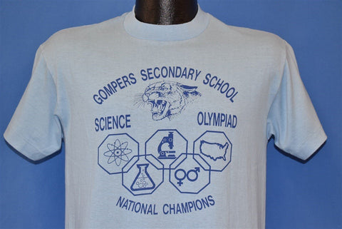 80s Gompers Science Olympiad Champs '87 t-shirt Medium