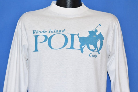 90s Rhode Island Polo Club Horse RIPC t-shirt Medium