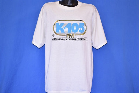 90s K-105 FM Continuous Country Favorites t-shirt Extra Large