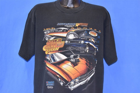 90s Super Chevy Car Show 1998 Black t-shirt Extra Large