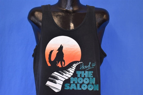 90s Howl at the Moon Saloon Tank Top t-shirt Large