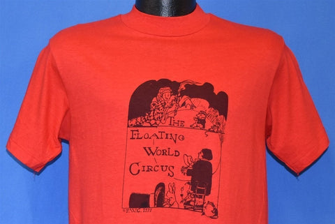 70s Floating World Circus Magician Bunny Wizard t-shirt Small