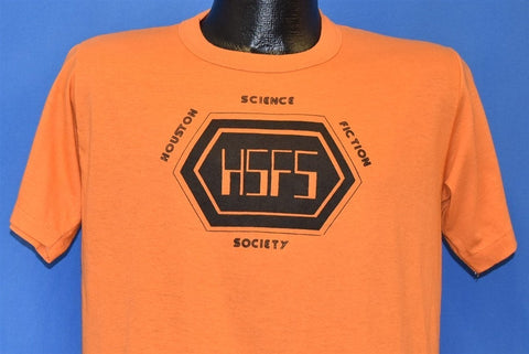 70s Houston Science Fiction Society HSFS t-shirt Medium