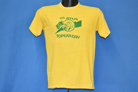 80s Topeka Day 11th Annual t-shirt Small