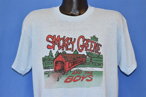 80s Smokey Greene and the Boys Bluegrass Band t-shirt Large
