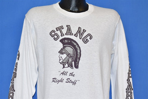 80s Stang All the Right Stuff Spartans t-shirt Medium