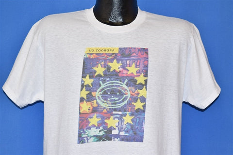 90s U2 Zooropa Album Cover t-shirt Large