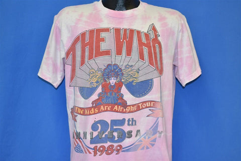 80s The Who The Kids Are Alright Anniversary Tour t-shirt Large