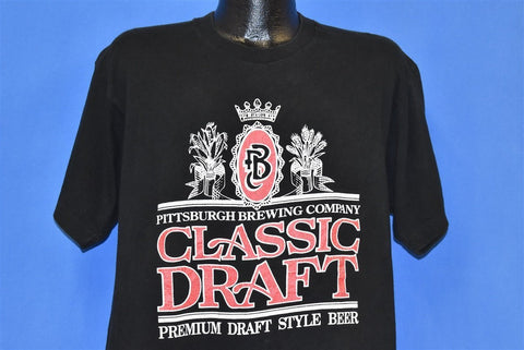 90s Pittsburgh Brewing Company Beer t-shirt Extra Large