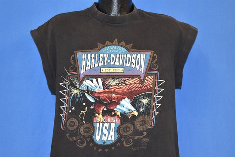 90s Harley Davidson Made in the USA Eagle t-shirt Large