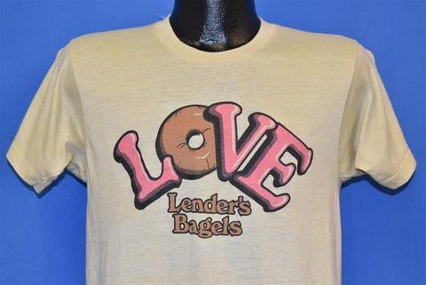 80s Love Lender's Bagels Logo t-shirt Medium