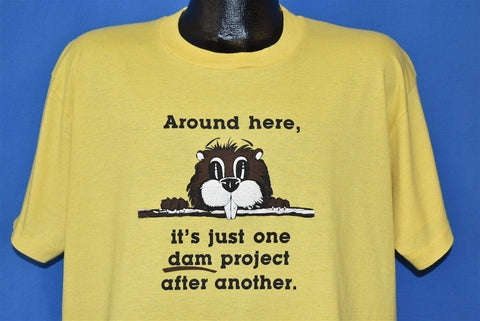 90s Beaver One Dam Project After Another t-shirt Extra Large