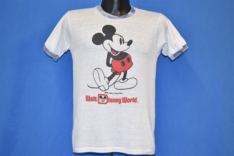 70s Mickey Mouse Walt Disney Ringer t-shirt Small