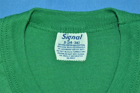 70s Enjoy Sprite Logo Kelly Green t-shirt Extra Small